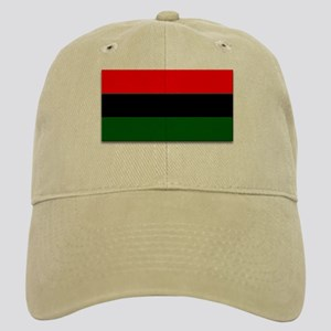 Red Black and Green Flag Cap