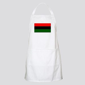 Red Black and Green Flag BBQ Apron