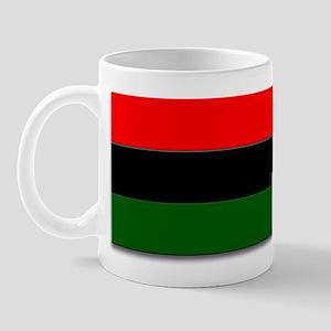 Red Black and Green Flag Mug