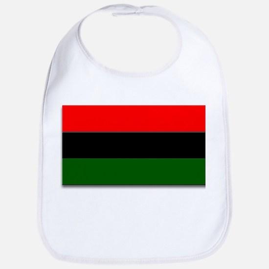 Red Black and Green Flag Bib