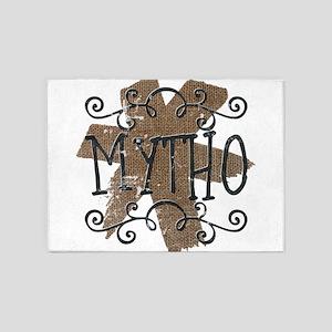Mytho 5'x7'Area Rug
