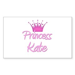 Princess Kate Rectangle Decal