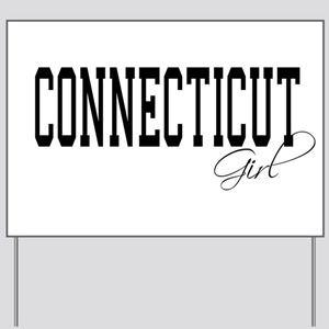 Connecticut Girl Yard Sign