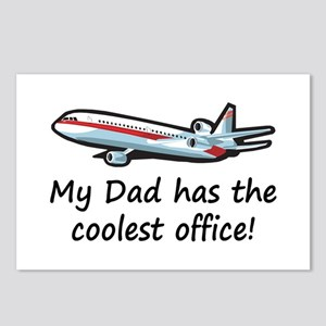 Dad's Airplane Office Postcards (Package of 8)
