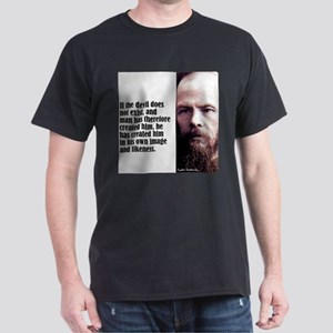"Dostoevsky ""If the Devil"" T-Shirt"