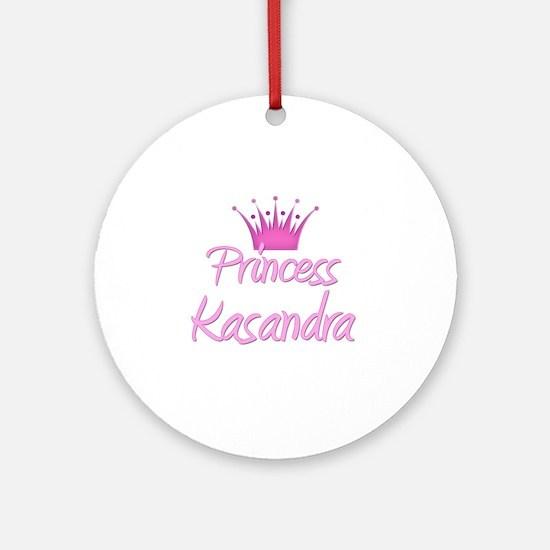 Princess Kasandra Ornament (Round)