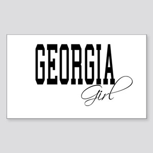 Georgia Girl Rectangle Sticker