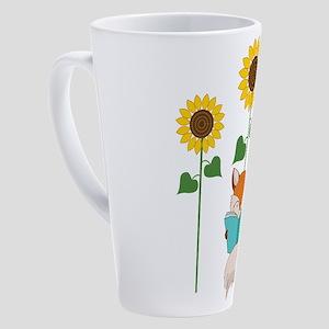 Reading Fox Book Lover 17 oz Latte Mug