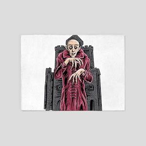 Nosferatu vampire classic horror bl 5'x7'Area Rug