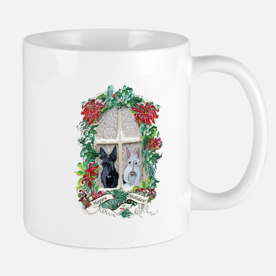 Scottie Terrier Holiday Mug