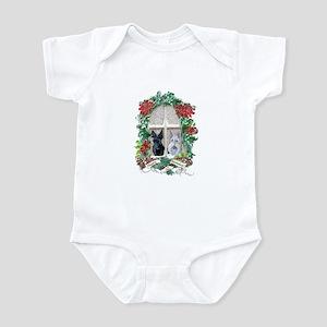Scottie Terrier Holiday Infant Bodysuit