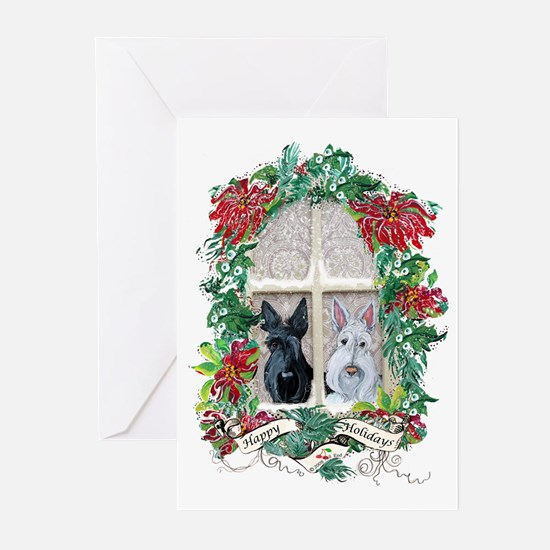 Scottie Terrier Holiday Greeting Cards (Pk of 20)