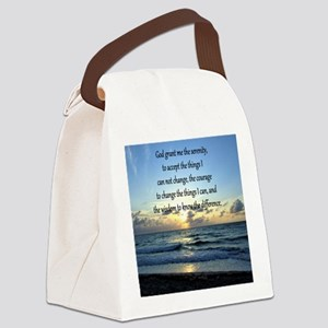 SERENITY PRAYER Canvas Lunch Bag