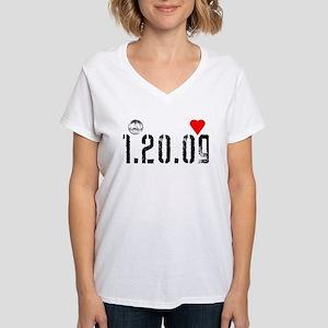 President Obama inauguration Womens V-Neck T-Shirt
