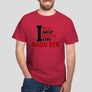 Bleed Sweat Breathe Wado Ryu Dark T-Shirt