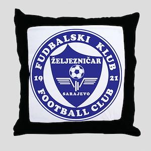 FK Zeljeznicar Throw Pillow