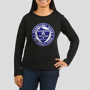FK Zeljeznicar Women's Long Sleeve Dark T-Shirt