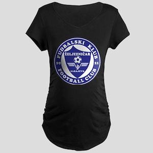 FK Zeljeznicar Maternity Dark T-Shirt
