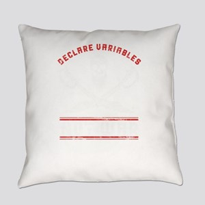 Declare Variables Not War Everyday Pillow
