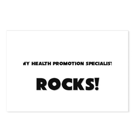 MY Health Promotion Specialist ROCKS! Postcards (P