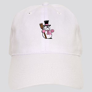 Holiday Snowman 1.1 Cap