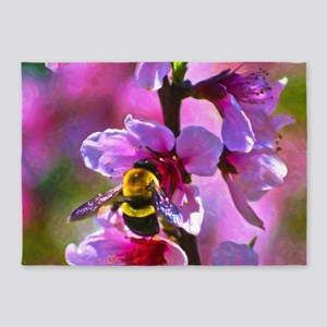 Vibrant Bee 5'x7'Area Rug