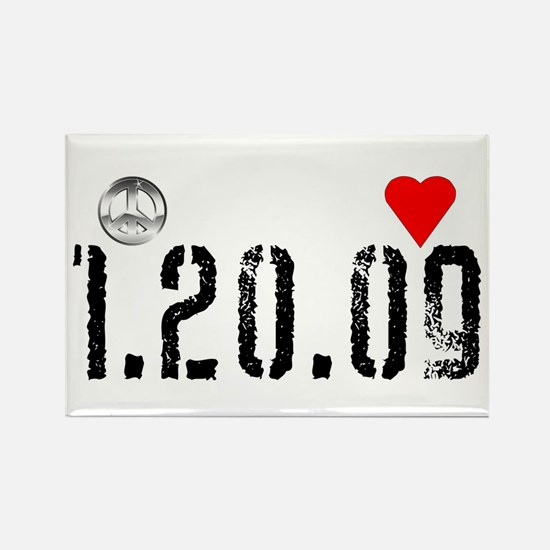 President Obama inauguration date Rectangle Magnet