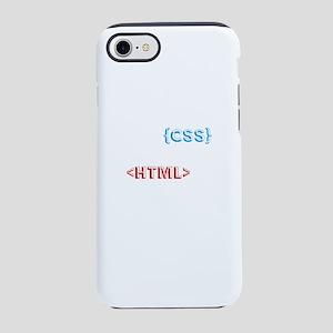Funny Program Codes Cascadin iPhone 8/7 Tough Case