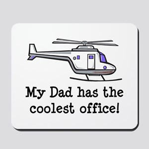 Dad's Helicopter Mousepad