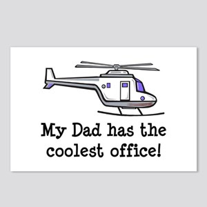Dad's Helicopter Postcards (Package of 8)