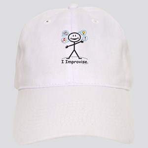 Improve comedy stick figure Cap