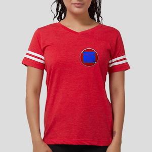 Mayan Night Dive Cozumel Ladies Football T-Shirt
