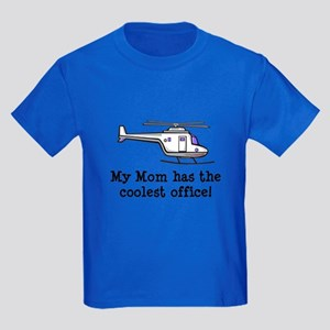Mom's Helicopter Kids Dark T-Shirt