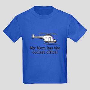 Mom's Helicopter Kids Dark T-Shirt