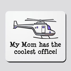 Mom's Helicopter Mousepad