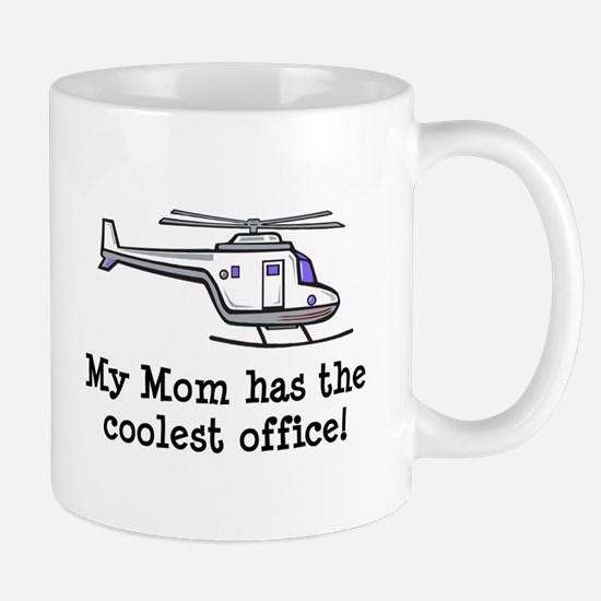 Mom's Helicopter Mug