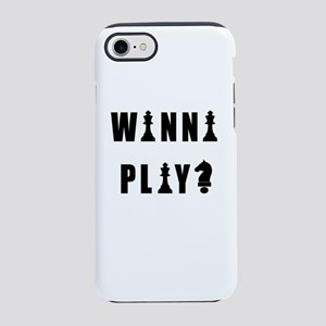 Funny Chess Quote iPhone 8/7 Tough Case