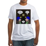 Train Tunnel and Caving Fitted T-Shirt
