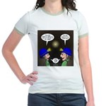 Train Tunnel and Caving Jr. Ringer T-Shirt