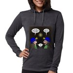 Train Tunnel and Caving Womens Hooded Shirt