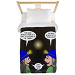 Train Tunnel and Caving Twin Duvet Cover