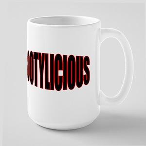 """""""BOOTYLICIOUS"""" Large Mug"""
