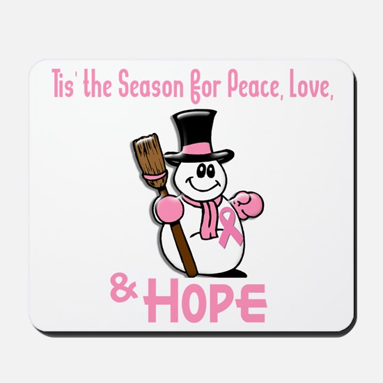 Holiday Snowman 1.2 Mousepad