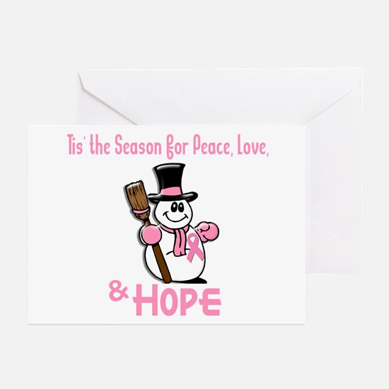 Holiday Snowman 1.2 Greeting Cards (Pk of 10)