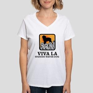 Spanish Water Dog Women's V-Neck T-Shirt