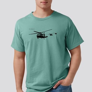 Helicopters (Black) T-Shirt