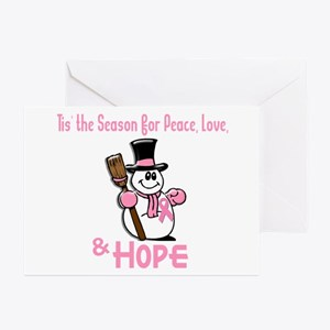 Holiday Snowman 1.2 Greeting Cards (Pk of 20)