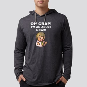 funny done adulting adultish g Long Sleeve T-Shirt