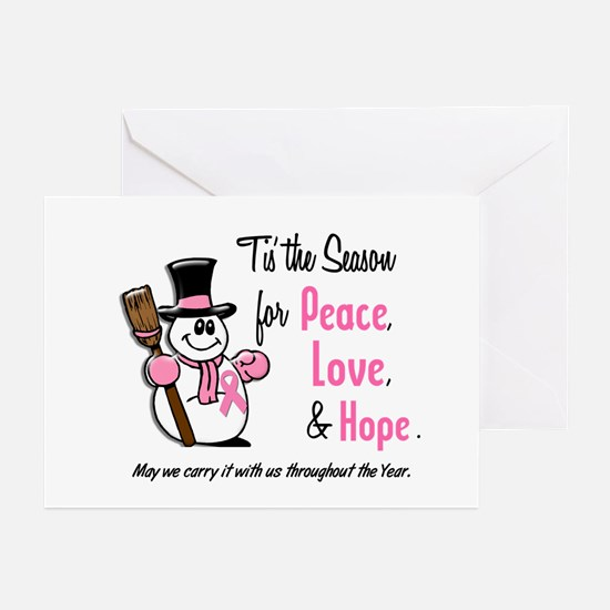 Holiday Snowman 1.3 Greeting Cards (Pk of 10)