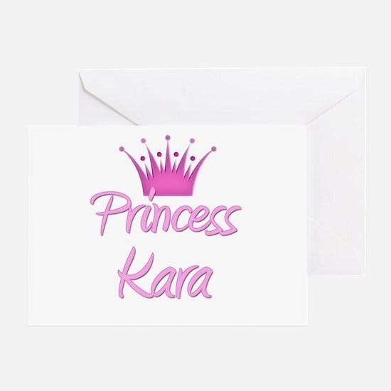 Princess Kara Greeting Card
